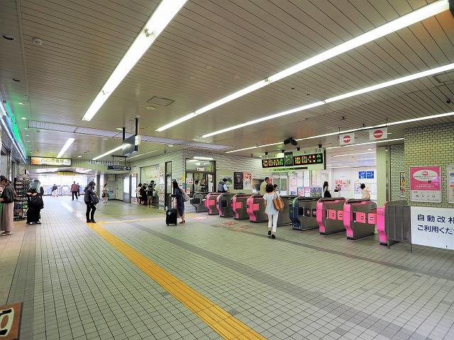 上板橋駅改札