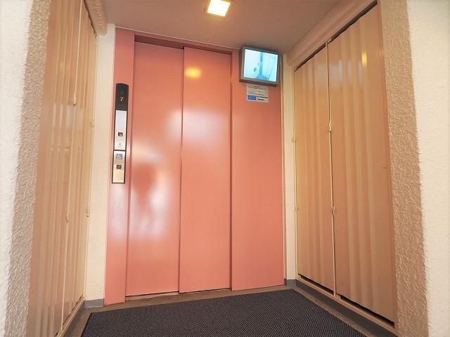 前野町ハイツ1号棟エレベーター