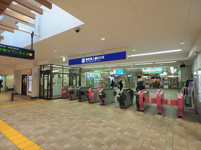 成増駅改札